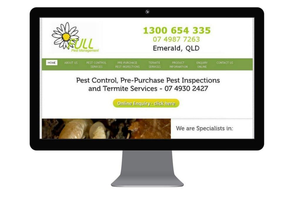 Full Pest Management – first website