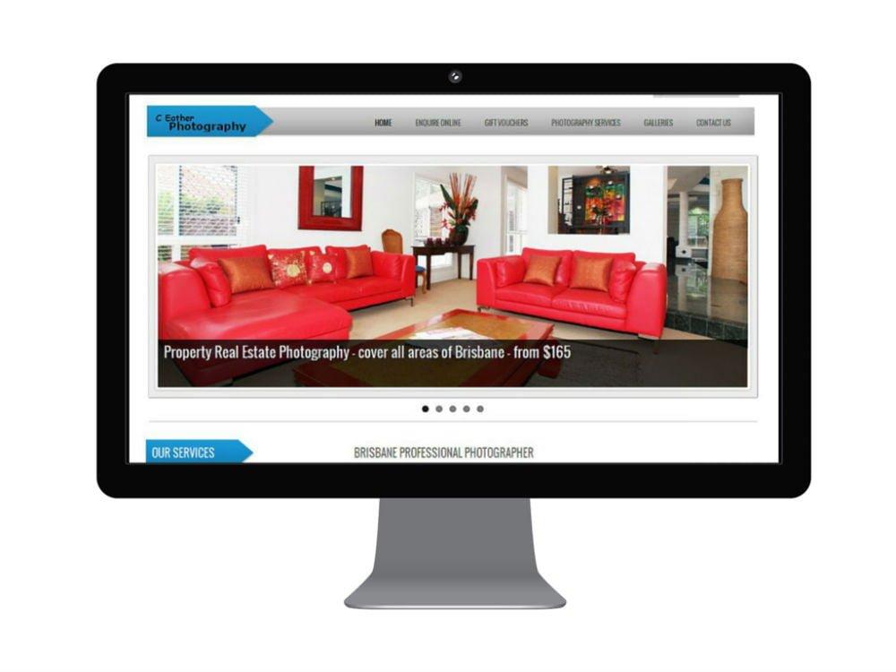 C Eather Photography Brisbane Website