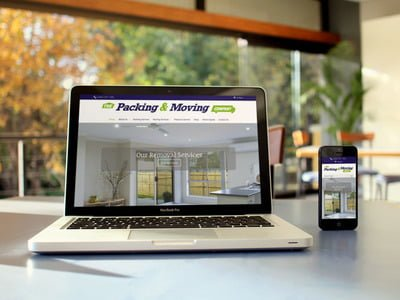 The Packing and Moving Company Website