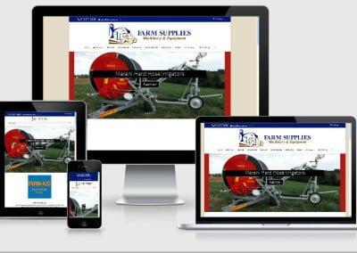 Upgraded Website for Farm Supplies Machinery & Equipment