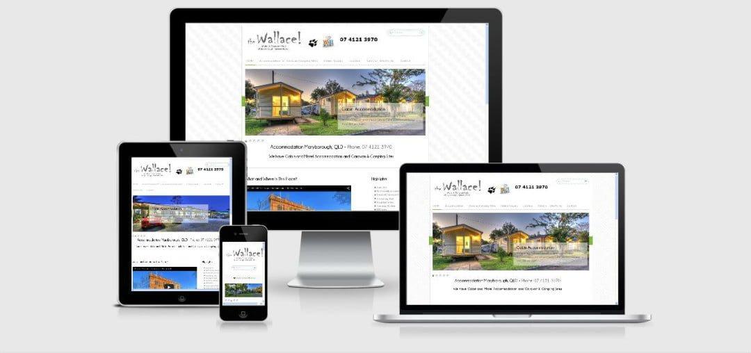 Updated Wallace Caravan Park Website