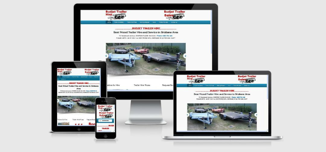 Budjet Trailer Hire added a Sales Division to Website