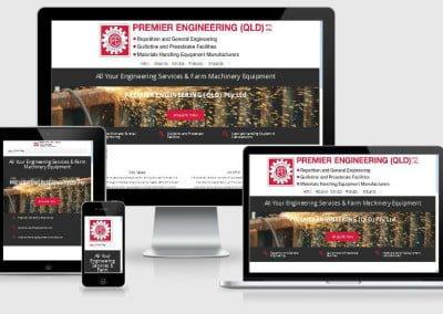 Premier Engineering (Qld) New Website