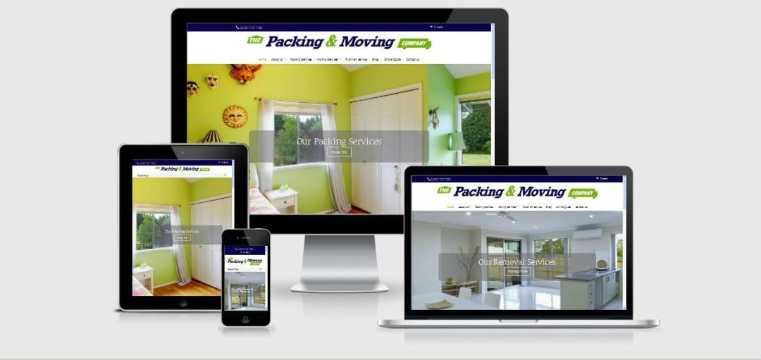 The Packing and Moving Company New Website