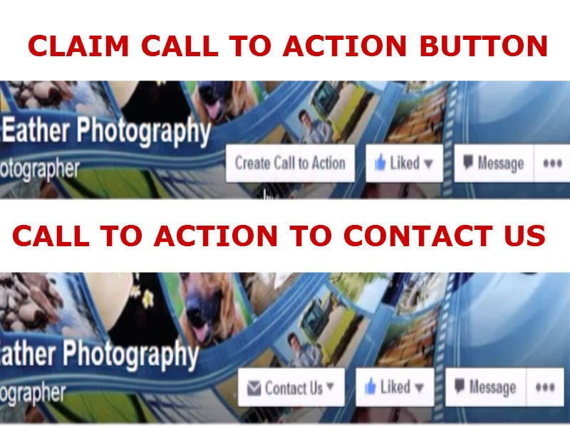 Facebook Call to Action Button - Video how to