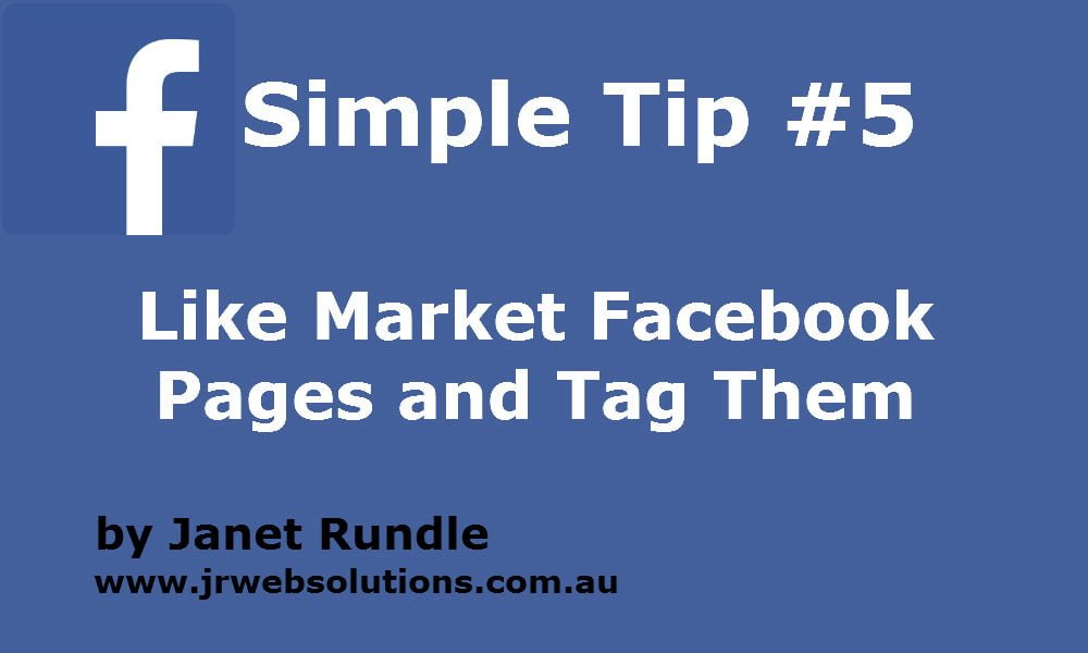 Like and Tag other Facebook Business Pages