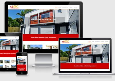 AGC Homes New Business Website