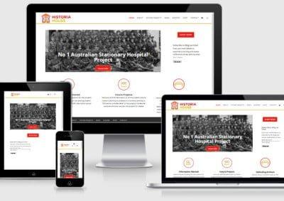 Historia House Website