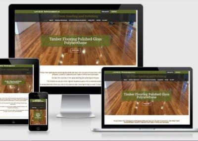 EC Floor Sanding and Polishing – Business Website