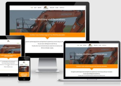 Geelan Mulching and Excavations – New Website