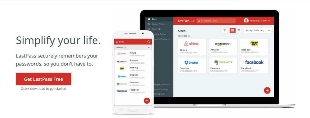 LastPass: Excellent Tool for Remembering Your Passwords