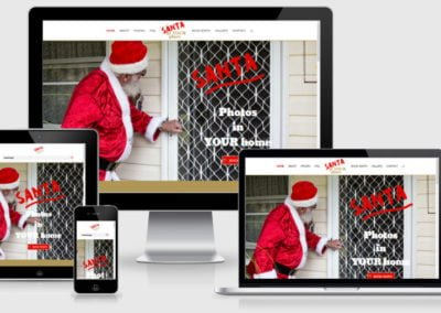 Santa At YOUR Place – Website for New Business