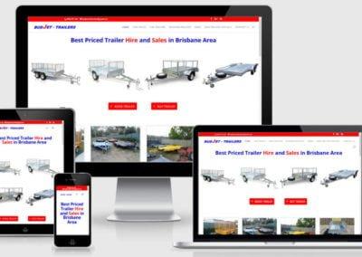 Budjet Trailer Hire – Website Upgrade and Revamp