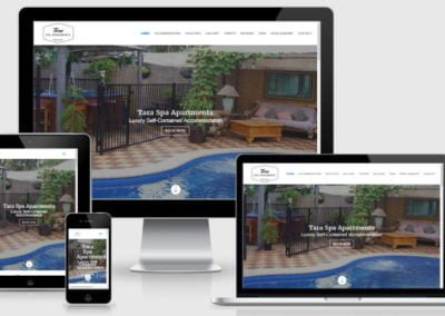 Tara Spa Apartments – Website for New Business