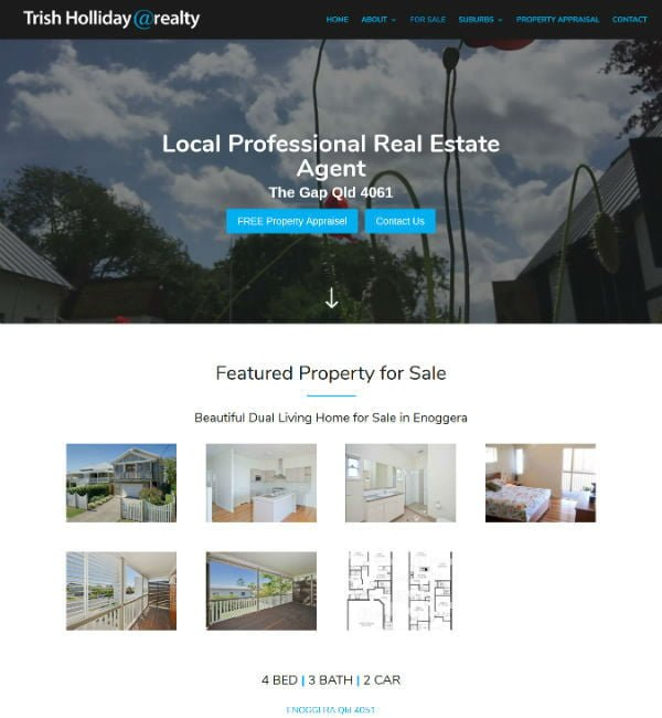 atRealty Real Estate Agent Website