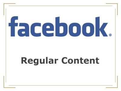 Facebook Business Regular Content