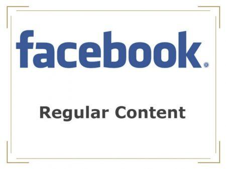 Facebook Business Regular Content