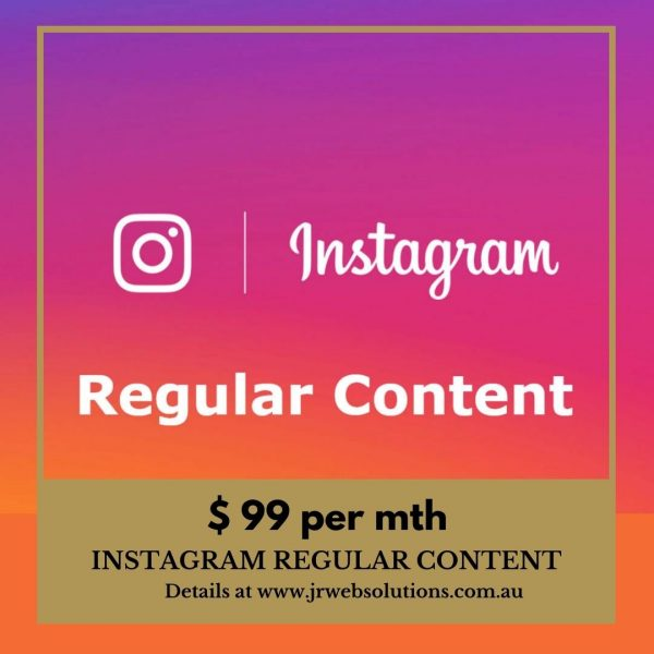 Instagram Regular Content