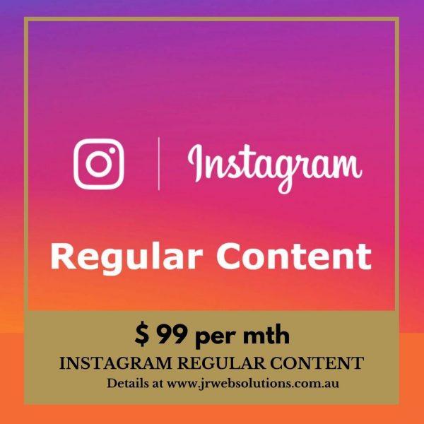 Instagram Regular Content