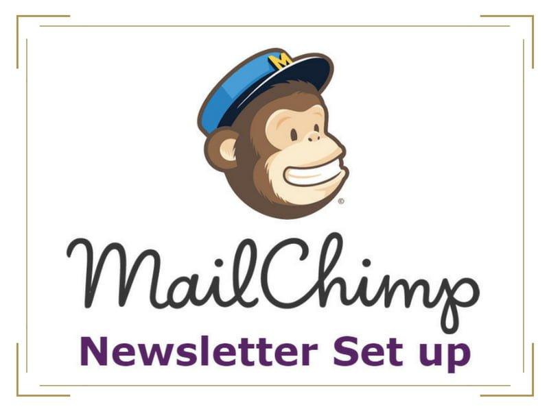 Mailchimp Newsletter Setup