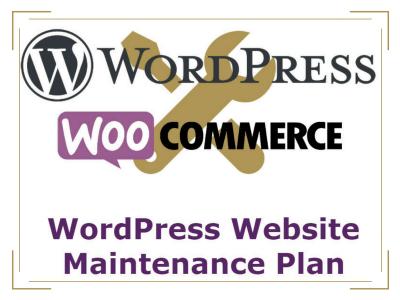 Wordpress Website WooCommerce Maintenance Plan