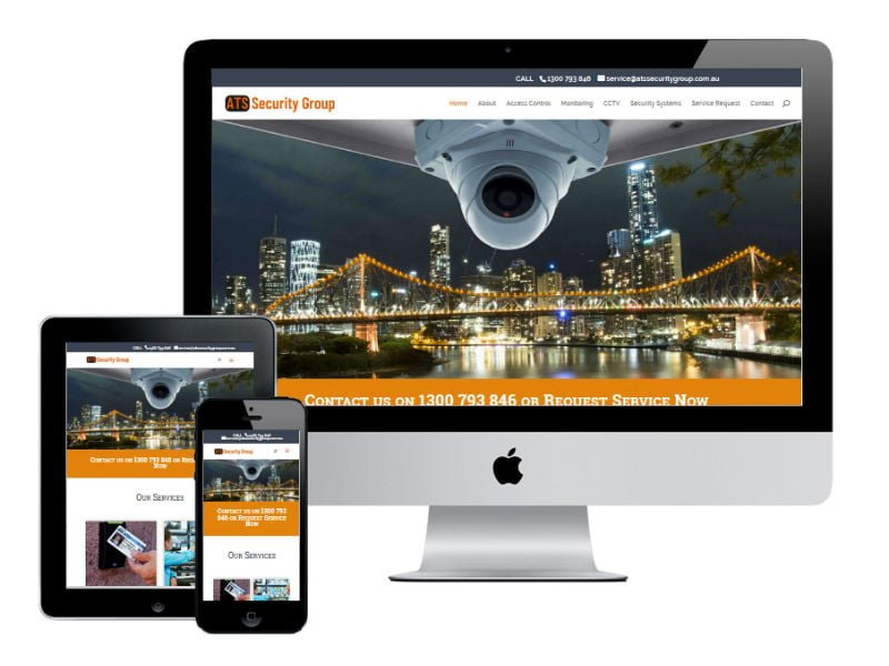 ATS Security Group - Redcliffe Website