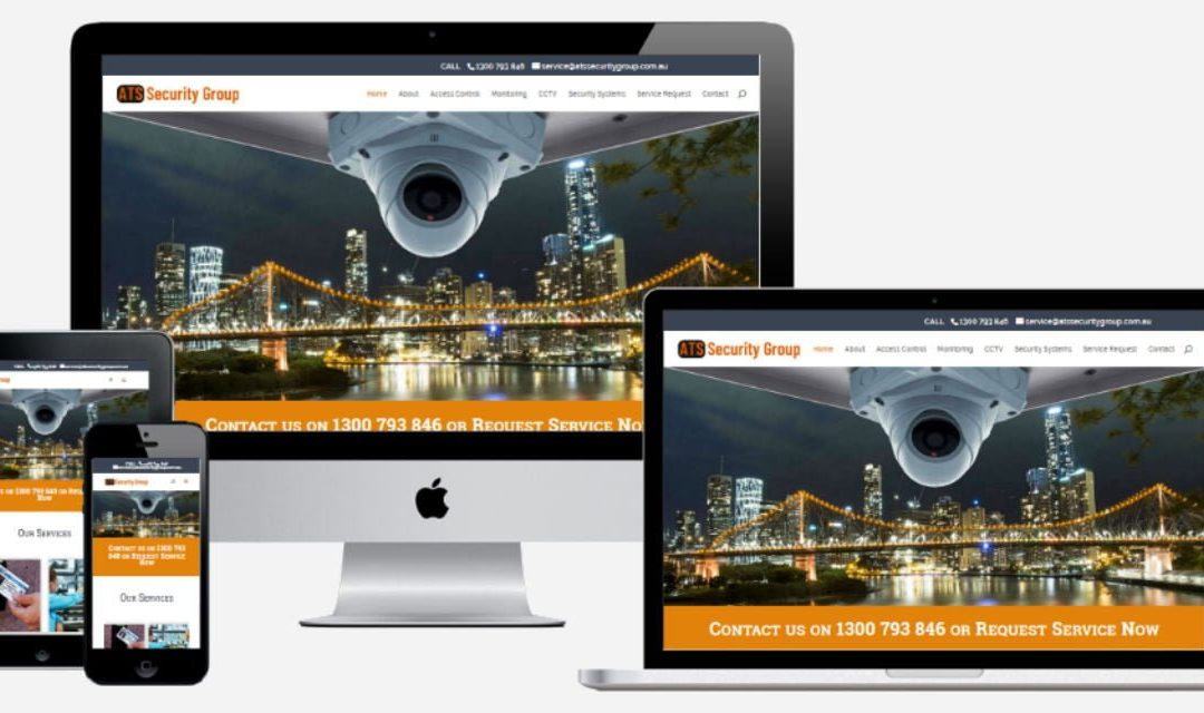 ATS Security Group – New Website Design