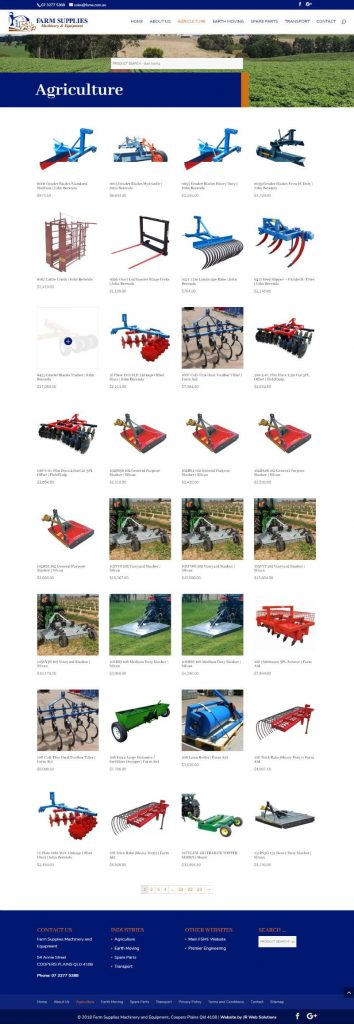 Farm Supplies Machinery and Equipment New Website