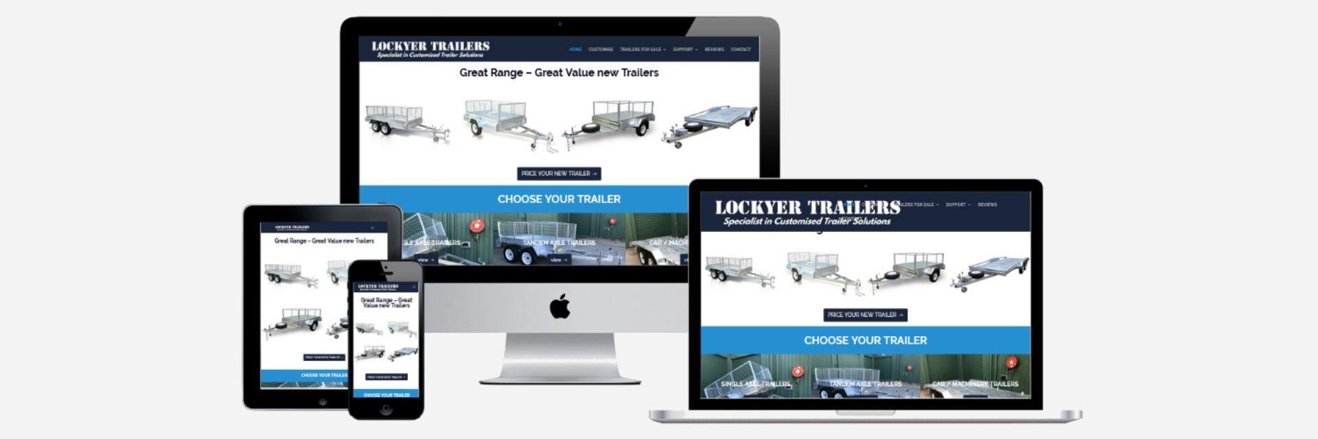 Lockyer Trailers - New Website Design