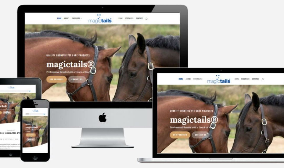 Magictails – New Website Design