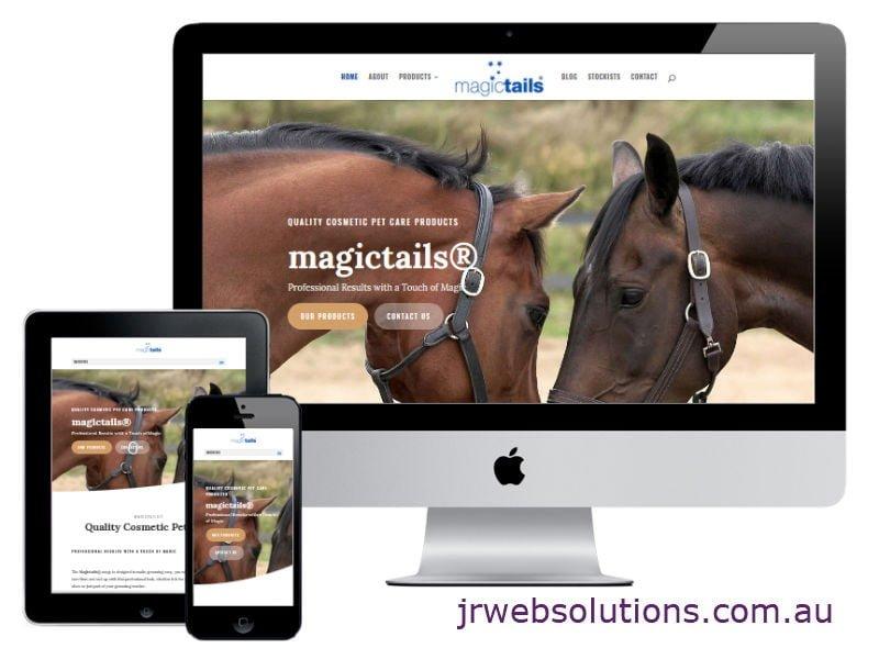 Magictails New Website Design