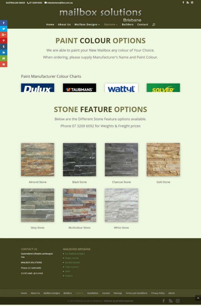 Mailbox Solutions Website