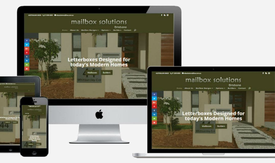 Mailbox Solutions Australia – New Website Design