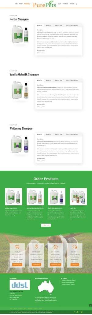 PurePets - New Website Design