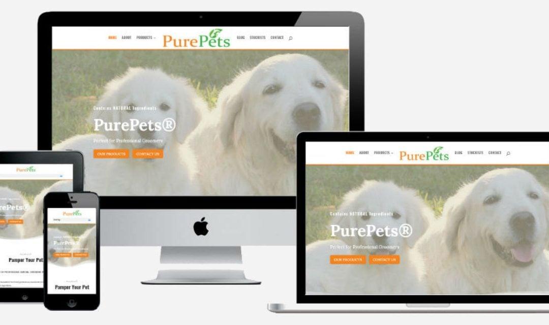 PurePets – New Website Design