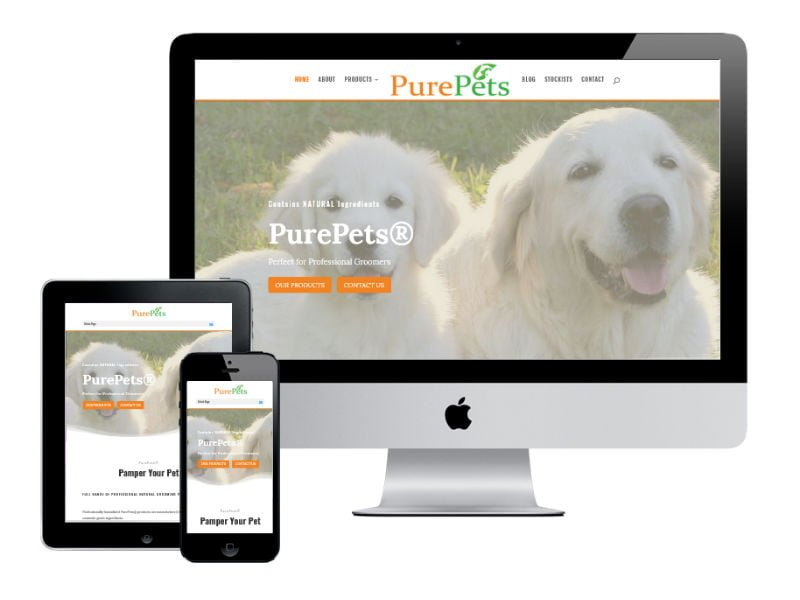 Magictails New Website Design - Clontarf Website