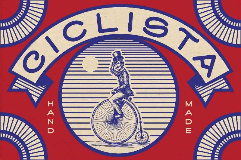 Ciclista - Sans Serif Font - Free