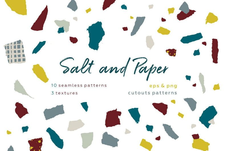 Salt & Paper Pattern set