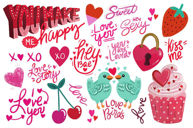 Hey Bae - Valentine Collection