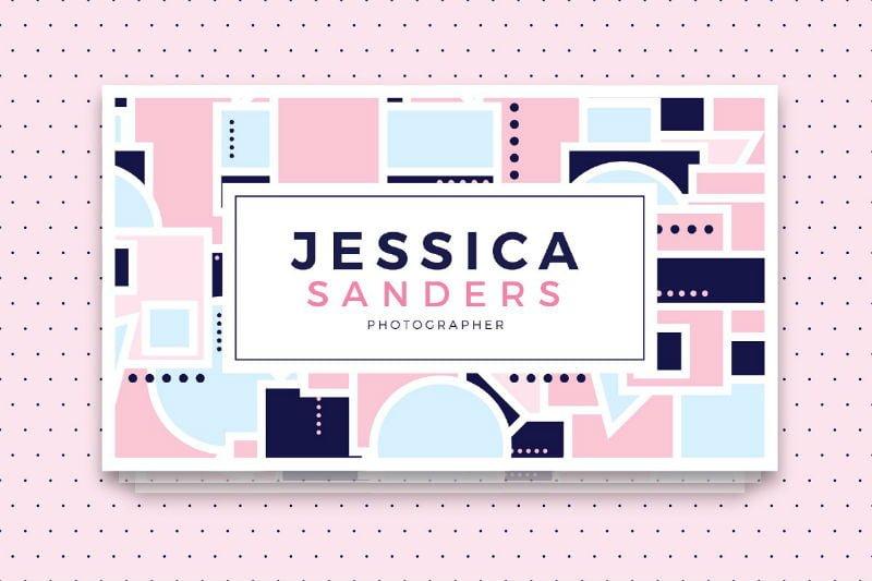 Jessica Sanders Business Card