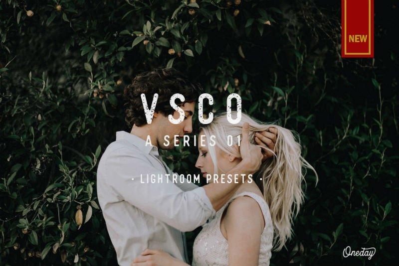 VSCO A series 01 Lightroom presets