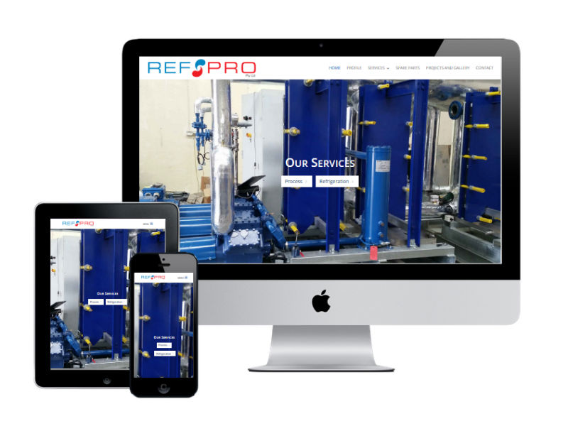 RefPRO Pty Ltd New Website Design