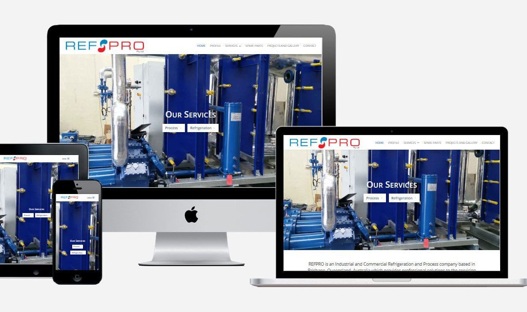 RefPro Pty Ltd – New Website Design