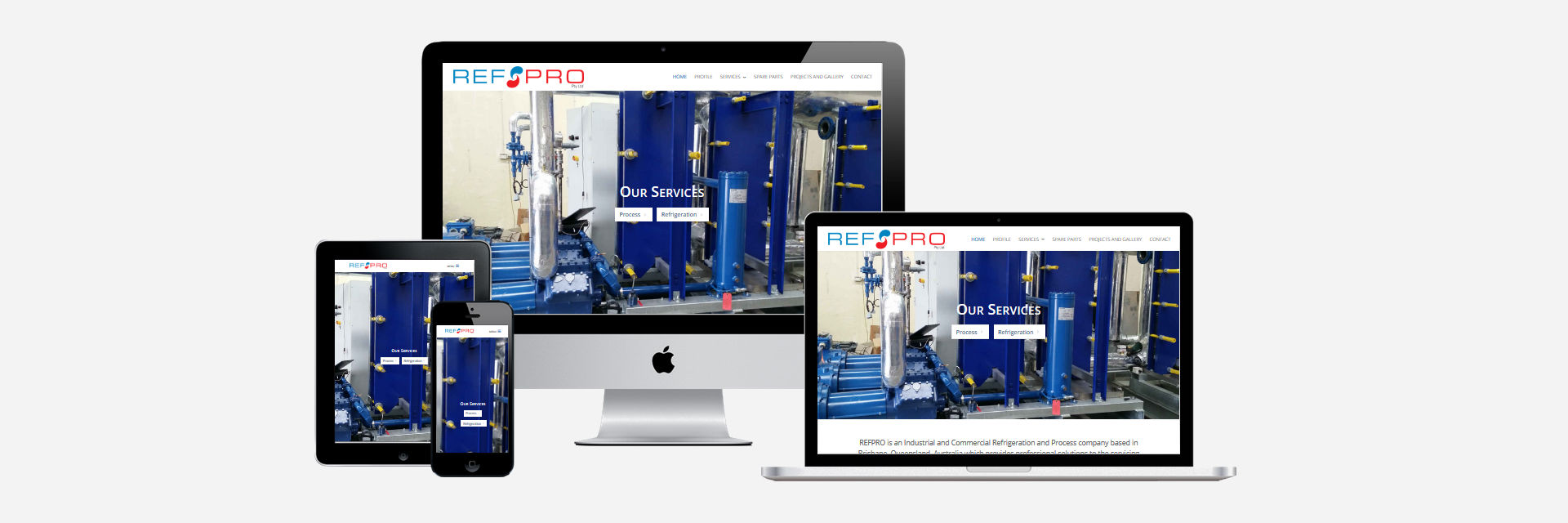 RefPro Pty Ltd - New Website Design