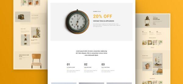 Boutique Shop Pre-made Divi WordPress Website Design