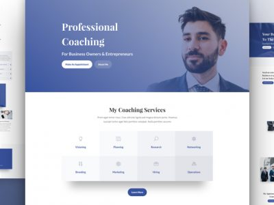 hot products newest fresh styles Business Coach Website   JR Web Solutions