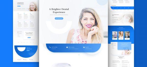Dentist Pre-made Divi WordPress Website Design