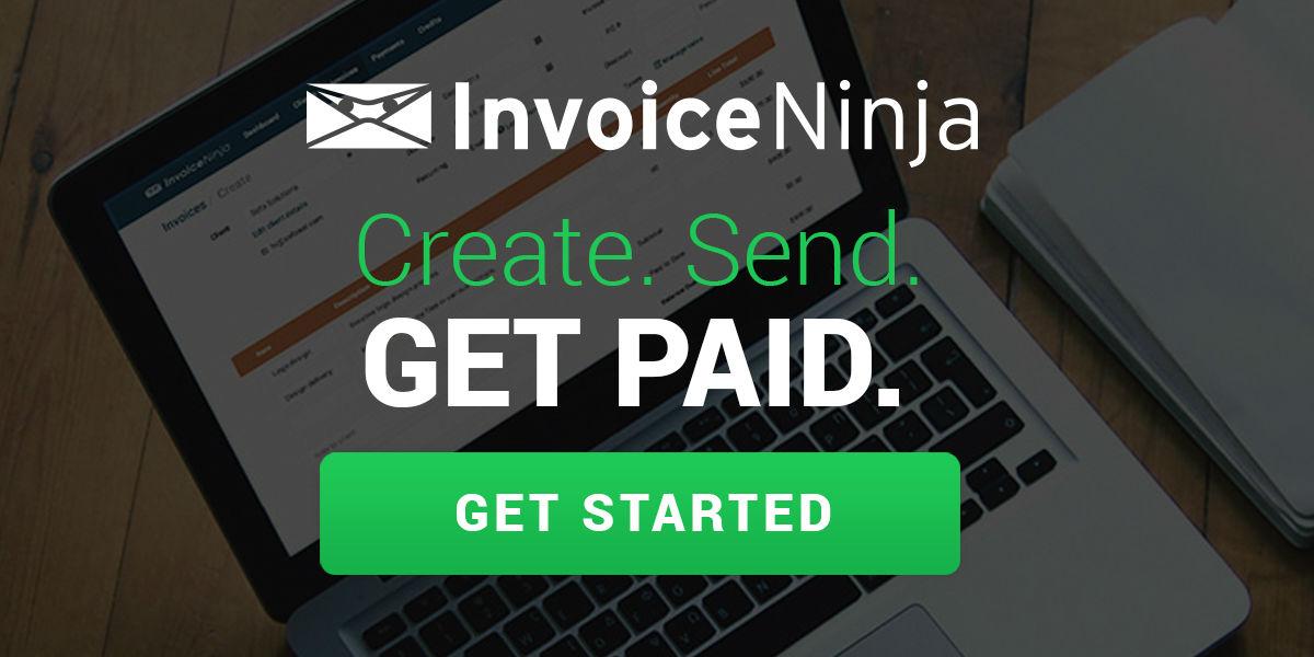 Invoice Ninja Create Send Get Paid