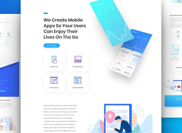 App Developer - Divi WordPress Website Design
