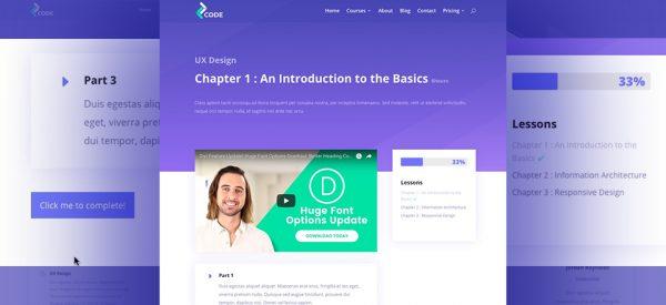 LMS Learning Services - Divi WordPress Website Design
